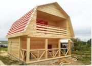 Построим Садовый Дом 6х7 сруб(брус) в Солигорске